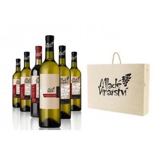 Degustační dárkový set vín 6x 0,75l