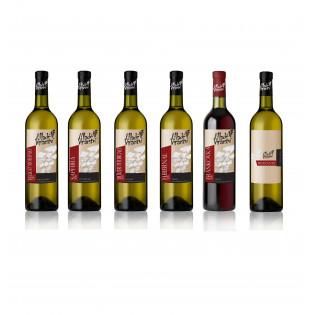 Degustační set vín 6x 0,75l